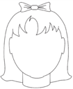 Face Template Girl