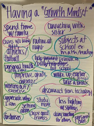 expository, essay, modeling, charting, middle grade, pick list choose