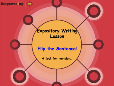 Hub, Flip the Sentence Skill Power, sentence variety