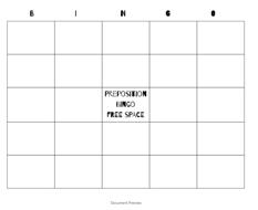 grammar, extension lesson, literature connection, preposition