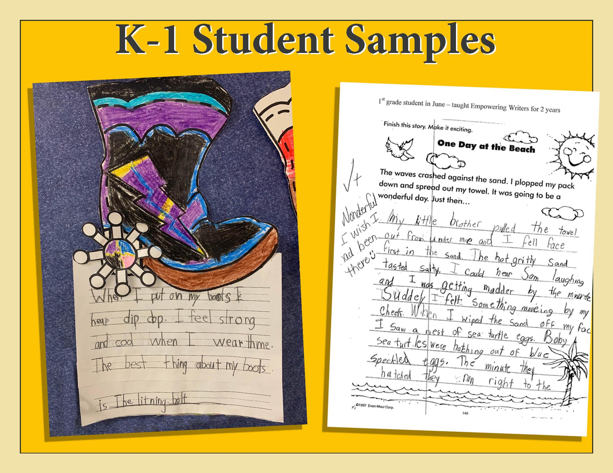 K1Student Samples Image