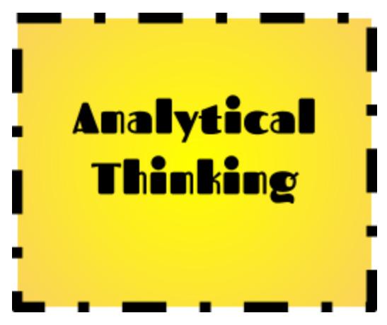 Analytical Thinking