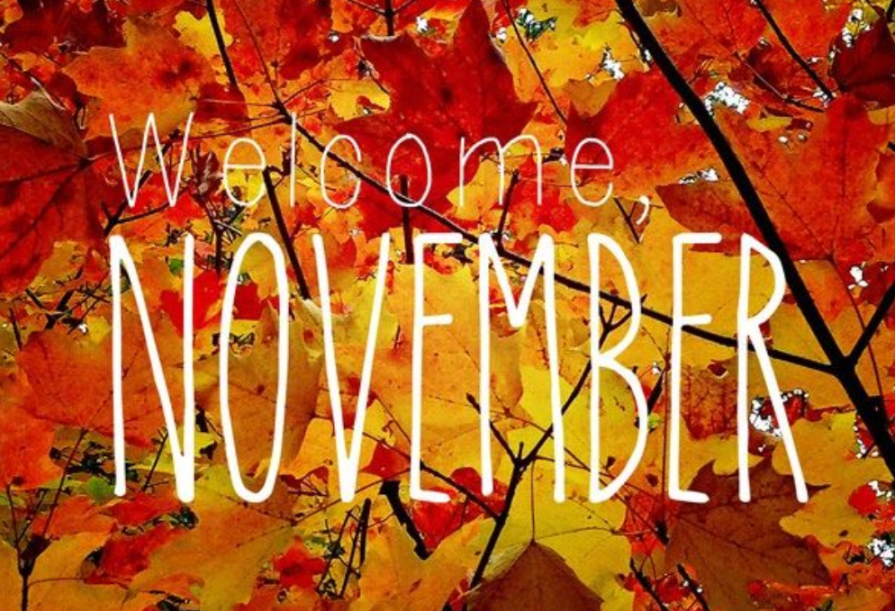 November Lessons of the Month