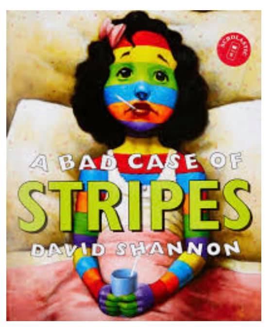 Narrative Writing - Descriptive Segment: A Bad Case of Stripes